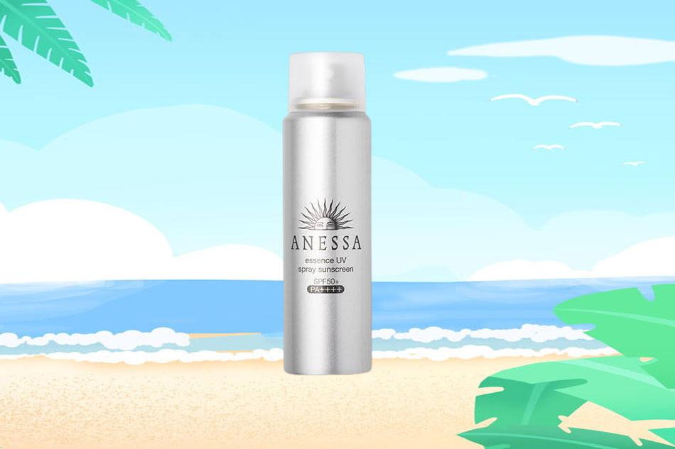 Xịt chống nắng Anessa Essence UV Spray Sunscreen SPF50+ PA++++