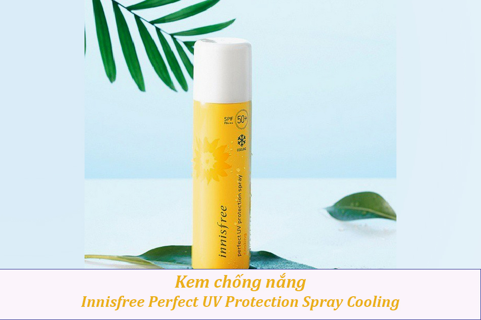 Innisfree Perfect UV Protection Spray Cooling