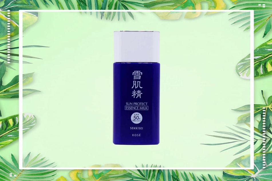 Kem chống nắng dạng sữa - Kose Sekkisei Sun Protect Essence Milk SPF 50+ PA++++ 60g