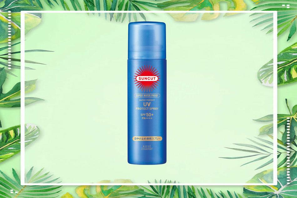 Kem chống nắng dạng xịt Kose Suncut Essence In UV Protect Spray