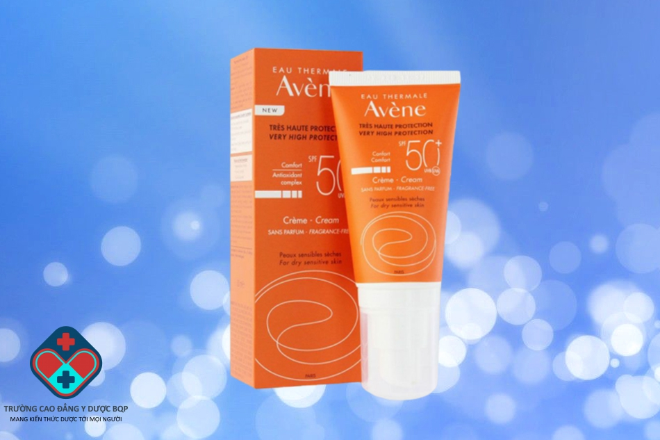 Kem chống nắng Avene Very High Protection Cream Fragrance Free SPF 50+