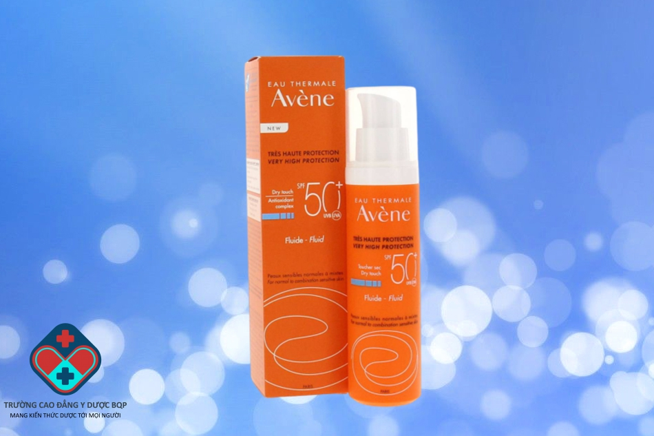 Kem chống nắng Avene Very High Protection Fluide – Fluid 50ml