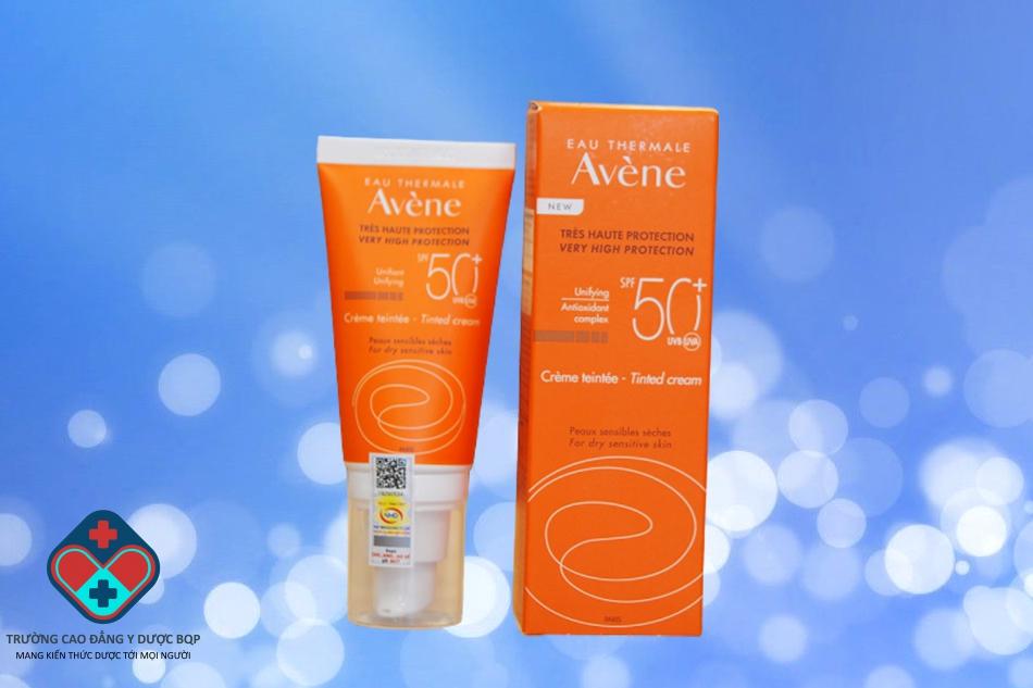 Kem chống nắng Avene Very High Protection Tinted Cream (có màu)