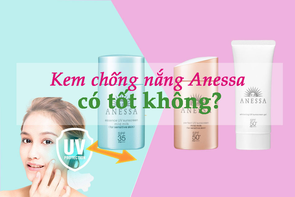 Review kem chống nắng Anessa