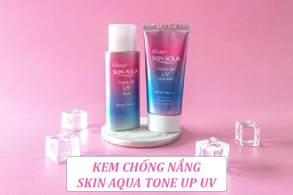 Kem chống nắng Skin Aqua Tone Up UV