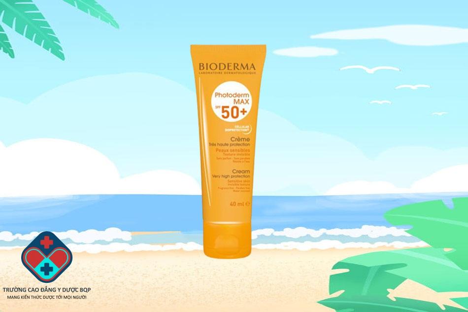 Kem chống nắng cho da khô Bioderma Photoderm Max Creme SPF 50+