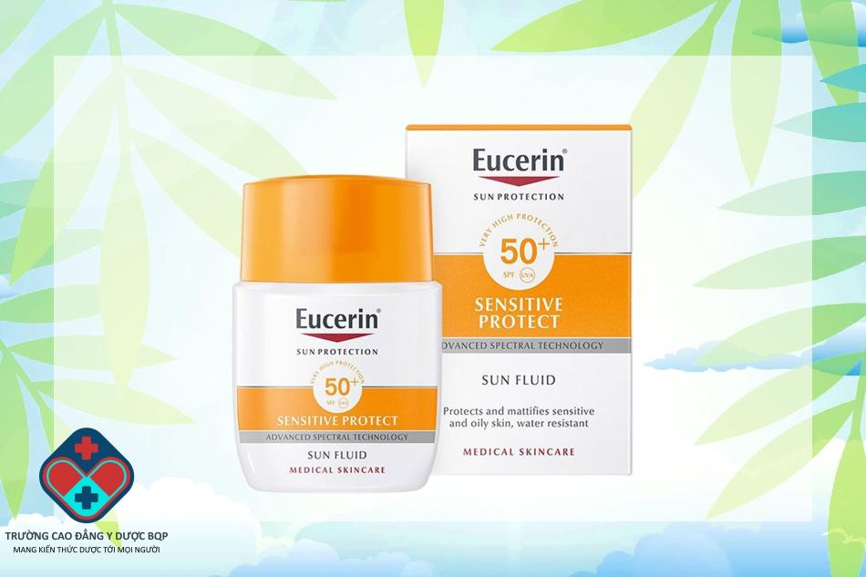 Kem chống nắng Eucerin Sensitive Protect Sun Fluid SPF 50+