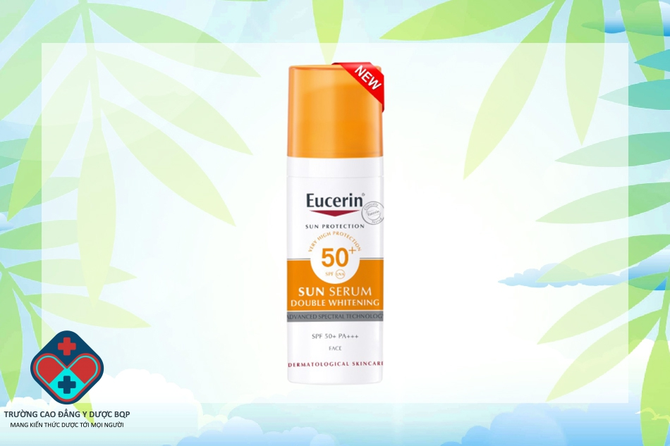 Kem chống nắng Eucerin Sun Serum Double Whitening SPF50+