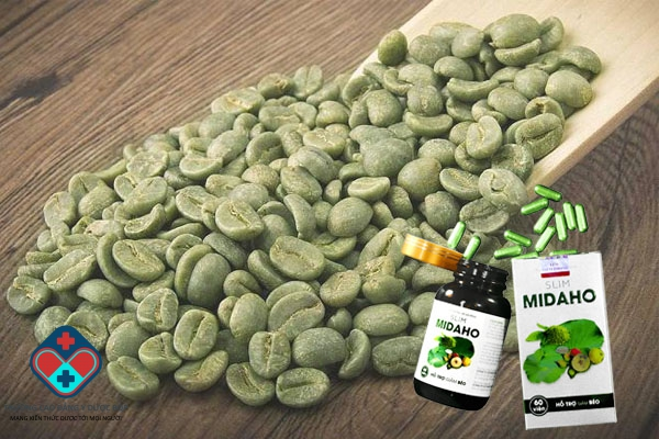 Cà phê xanh có trong Slim Midaho