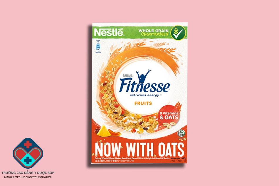Ngũ cốc giảm cân Nestle Fitnesse Fruit