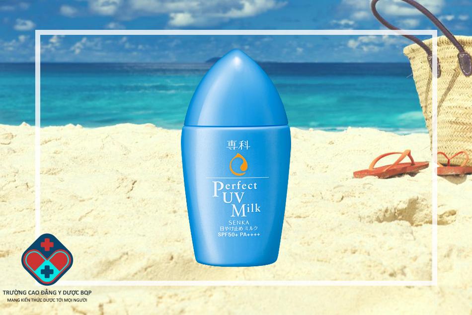Kem chống nắng Senka Perfect UV Milk 40ml