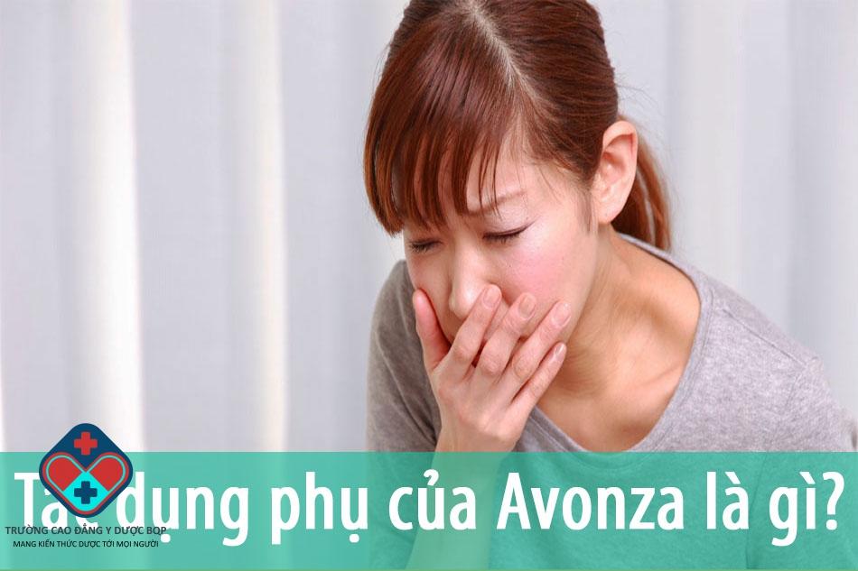 Tác dụng phụ của Avonza là gì?