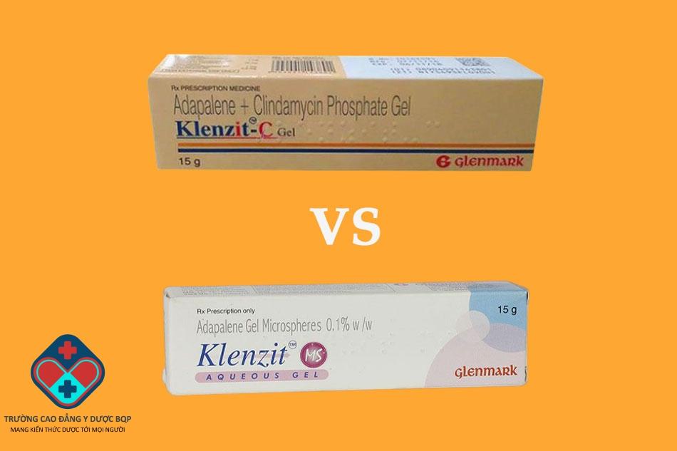 So sánh thuốc Klenzit MS và Klenzit C