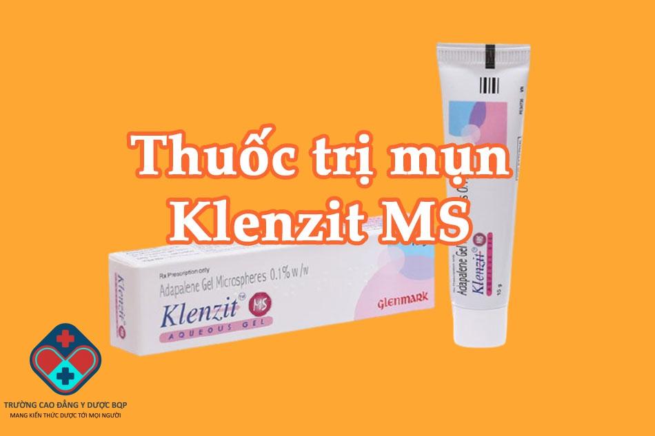 Thuốc trị mụn Klenzit MS