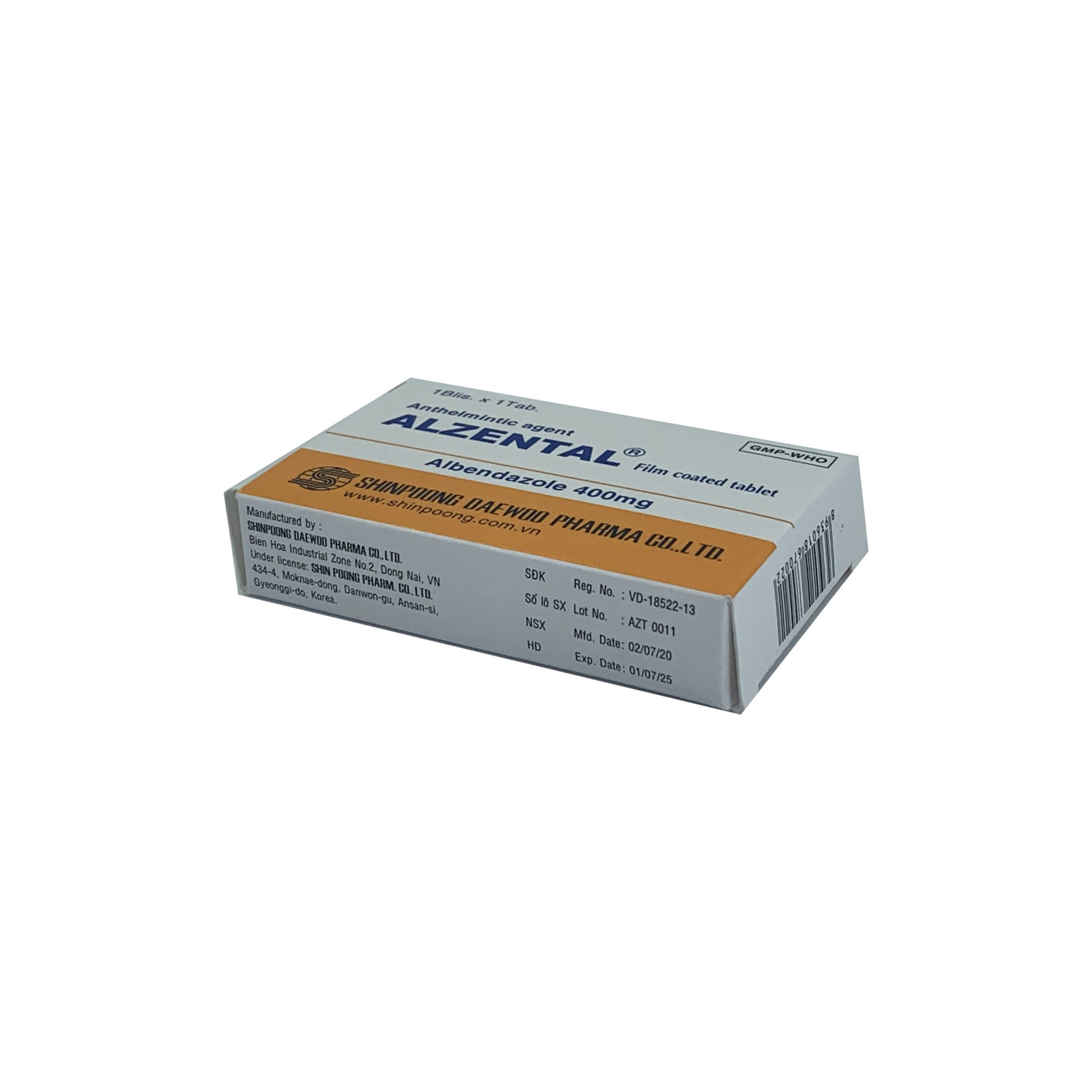 Thuốc Alzental
