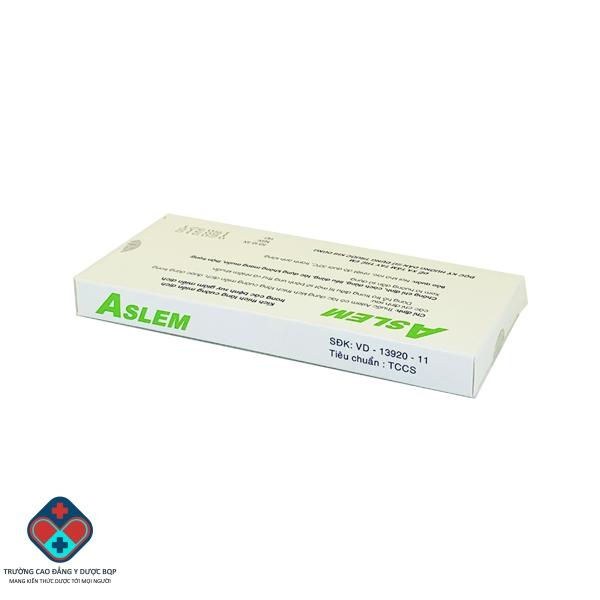 Thuốc ASLEM 0.3mg/ml