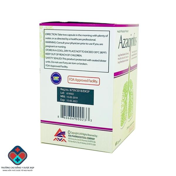 Thuốc bổ phổi Azaqinfos