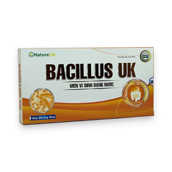 Men vi sinh Bacillus UK