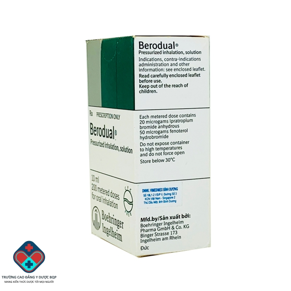 Thuốc Berodual 10ml,