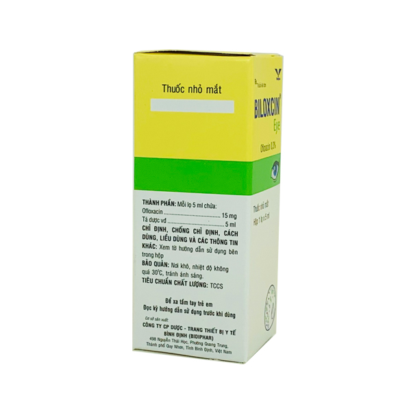 Thuốc Biloxcin Eye