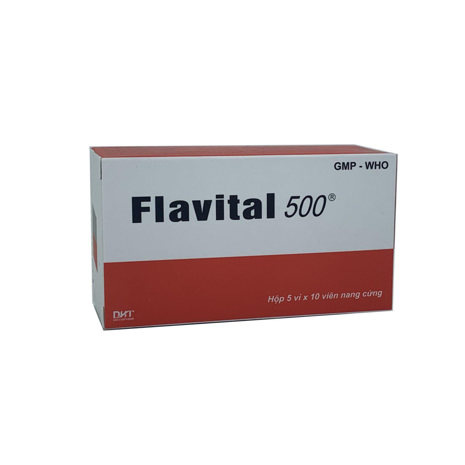 Thuốc Flavital 500