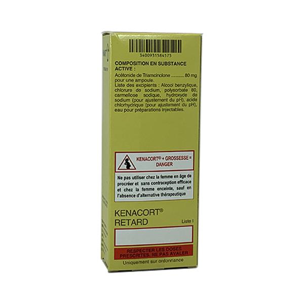 Thuốc tiêm sẹo lồi Kenacort Retard 80 mg/2ml