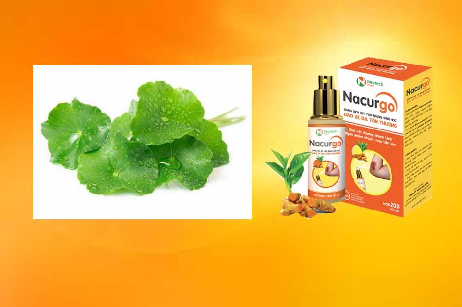 Thành phần và dạng bào chế của Nacurgo gel