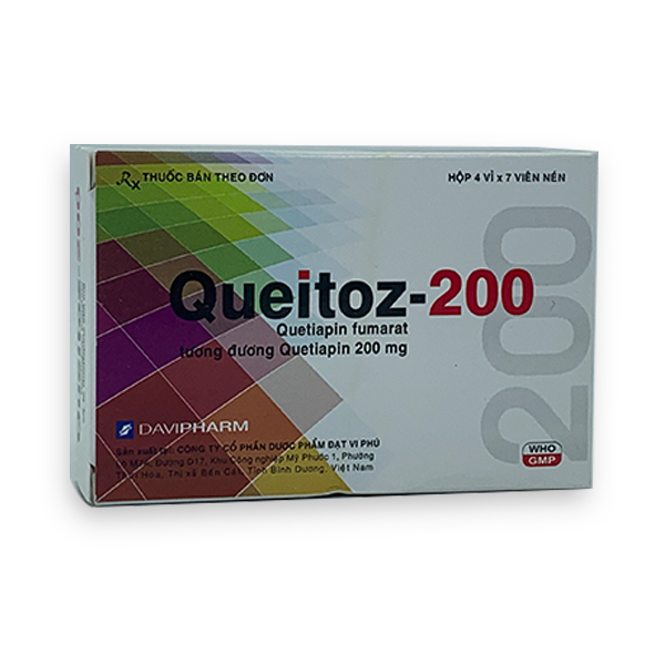 Thuốc Queitoz 200mg