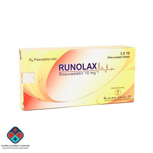 Thuốc Runolax 10mg