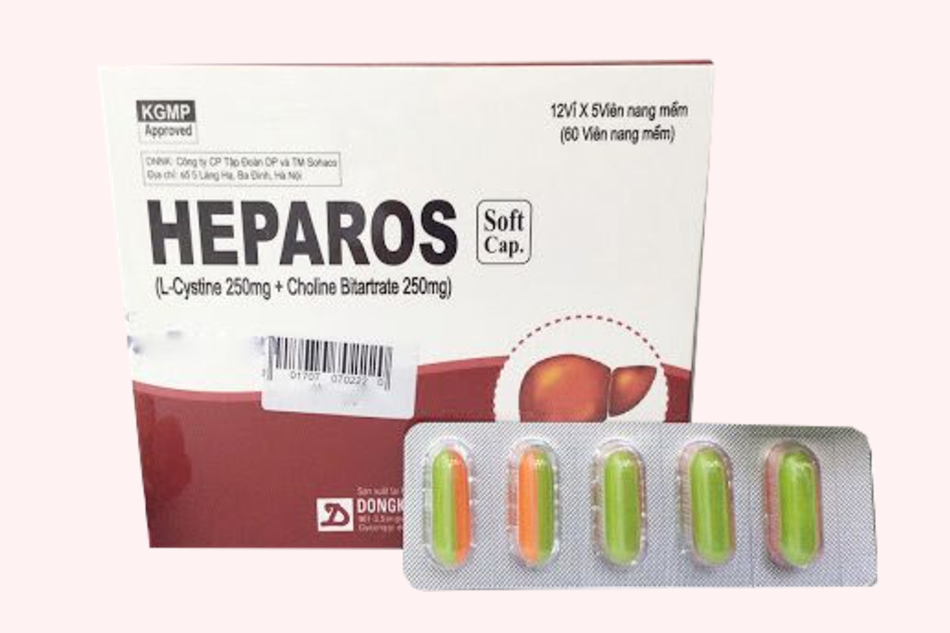 Heparos là thuốc điều trị các bệnh về gan, với các triệu chứng: viêm gan cấp,mạn tính, rối loạn chức năng gan gây mụn nhọt, mề đay, ngứa, sạm da, tàn nhang.